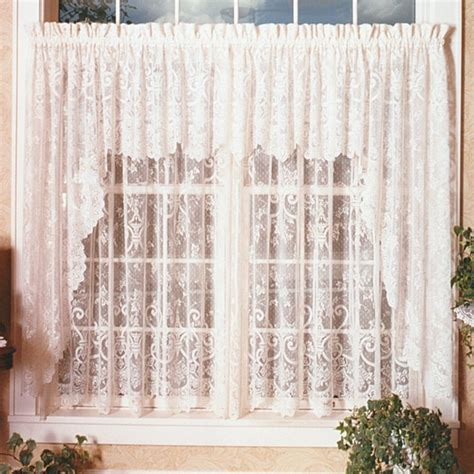 ivy curtains heritage lace english ivy swag pair modern curtains