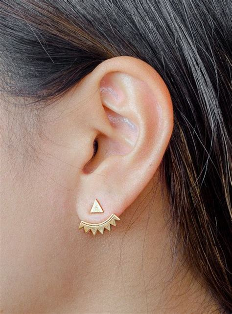 Ear Jackets 1000 ideas about ear jacket on stud earrings