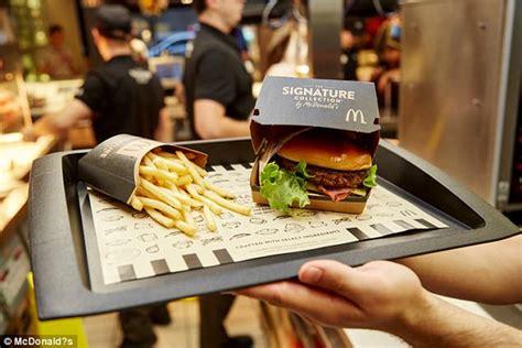 Mac Donald New Veggie Range   mcdonald s launches first brioche bun burgers daily mail