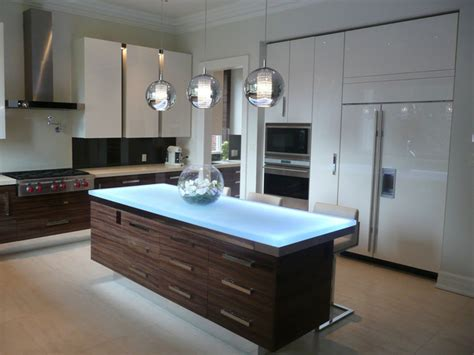 Kitchen Island Contemporary Glass Island Contemporary Kitchen Islands And Kitchen Carts Toronto By Cbd Glass Studios