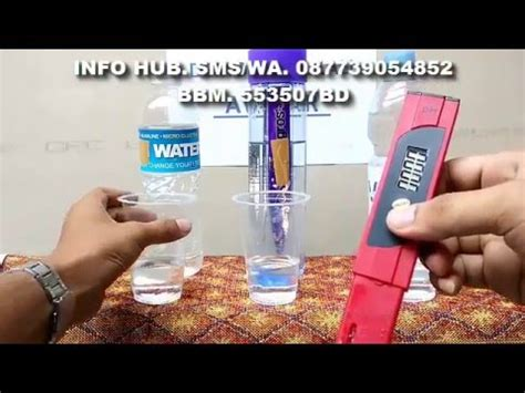 Mengenal Perbedaan Air Zam Zam Dan Air Kangen manfaat air alkali doovi