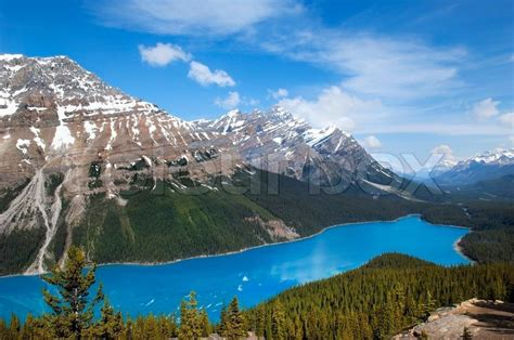 Vacation Home Plans emerald lake national park banff alberta canada stock
