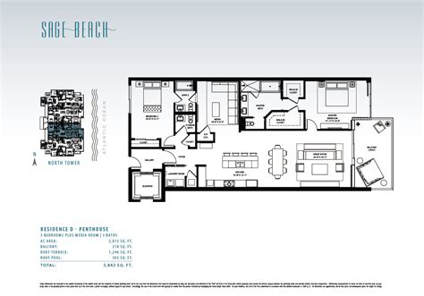 sage floor plan sage beach hollywood beach florida new beachfront condos
