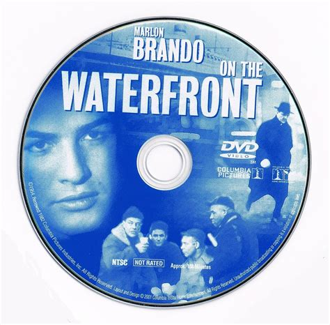 on the on the waterfront 1954 fs r1 dvd covers and labels