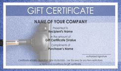 House Cleaning Gift Certificate Template by House Cleaning Service Gift Certificate Templates Easy