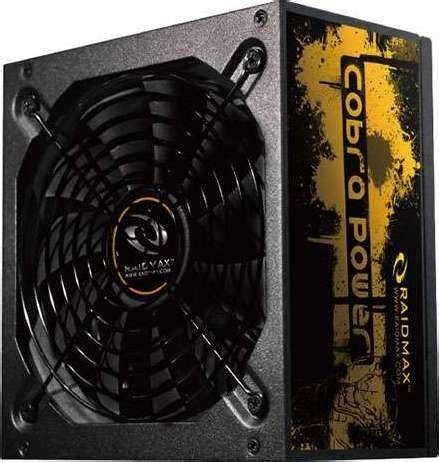 Raidmax 500 Watt Cobra 80 Bronze Rx 500 Afb raidmax cobra series 500w 80 plus gold atx12v v2 3 and eps12v power supply rx 500ae buy best