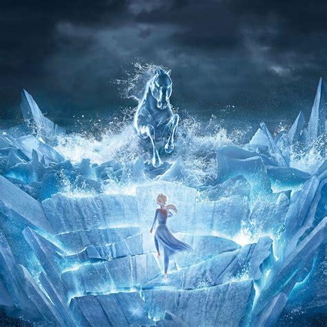 wallpaper frozen  queen elsa animation