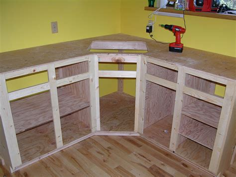How To Make Your Own Kitchen Cabinets by How To Build Kitchen Cabinet Frame Kitchen Reno
