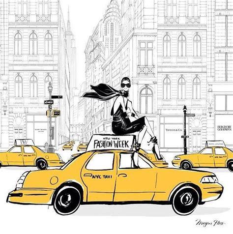 fashion illustration nyc new york illustration inspiration to places