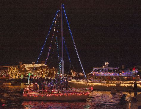 newport beach boat parade route and times newport beach christmas boat parade