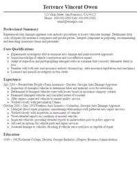 Appraiser Trainee Sle Resume by Damage Appraiser Related Keywords Suggestions Damage Appraiser Keywords