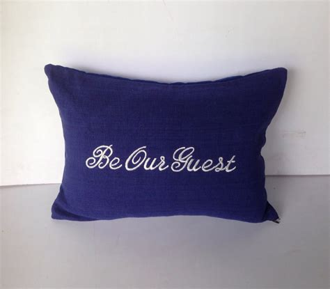Guest Pillow Pillows With Words Be Our Guest Pillows House Warming Gifts