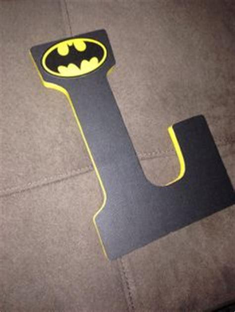 Letter Batman Batman Inspired Painted Wooden Letters 15cm Spikalnteriors Happy Boys