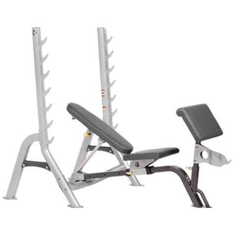 hoist benches hf 4170 fold up olympic combo bench hoist fitness