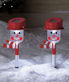 snowman solar light garden stakes 1000 images about decorating for on solar