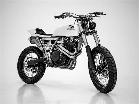honda xr600r honda xr600 tracker by herencia custom garage bikebound