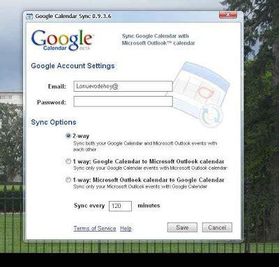 G Calendar Sync Calendar Sync Ahora Funciona Con Outlook 2010 Lo