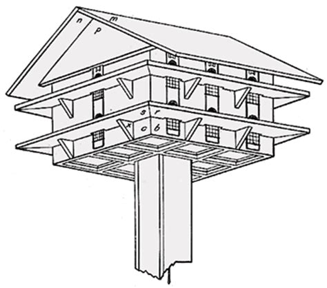 purple martin bird house plans purple martin bird house plan