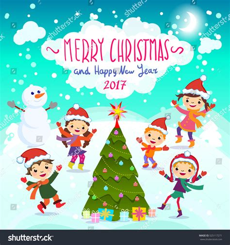 www imagenes de merry christmas stylish and bright merry christmas card in vector funny