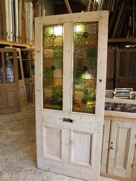 Antique Stained Glass Door Antique Stained Glass Entrance Door Stained Glass Doors