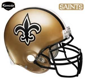 new orleans saints helmet fathead nfl wall graphic