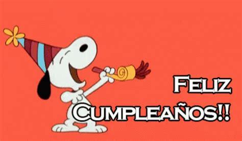 imagenes de feliz cumpleaños tumblr feliz cumplea 241 os gif felizcumpleanos felizcumple snoopy