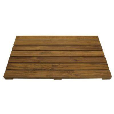 teak wood bath mat reviewing the pollenex conair ptm1 teak bath mat equal reviewer