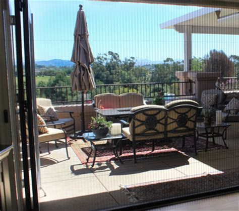 Patio Doors For Large Openings Specialty Retractable Screens Puget Sound Invisible Screens