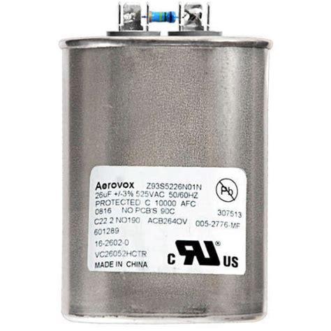 mylar capacitor list aerovox z93s5226n01n 1000 watt high pressure sodium capacitor 525 volt ehouseholds