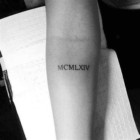 25 best ideas about roman numeral tattoos on pinterest