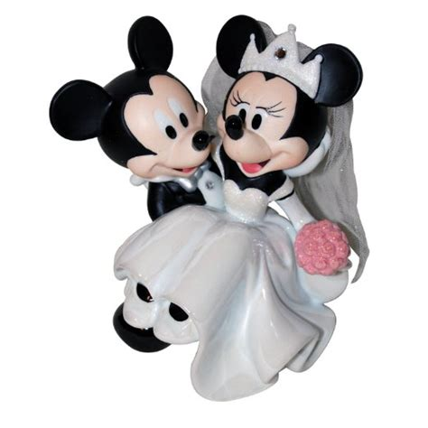 mickey and minnie mouse disney wedding cake topper buy disney mickey minnie wedding figurine cake topper in cheap price on alibaba