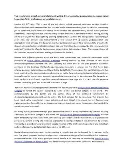 Dental School Application Essay tips for writing a dental school application essay