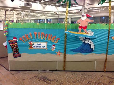 holiday office decorating ideas for work surfing santa hawaiian sea decor ideas surfing
