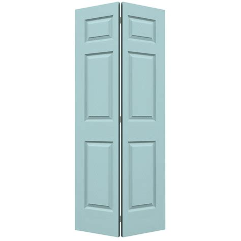 Lowes Bifold Closet Doors Shop Reliabilt No Frame 6 Panel Hollow Textured Molded Composite Bifold Closet Door