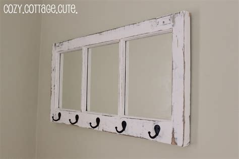 thrifty decorating turn an old window into a pot rack decorating ideas for old windows