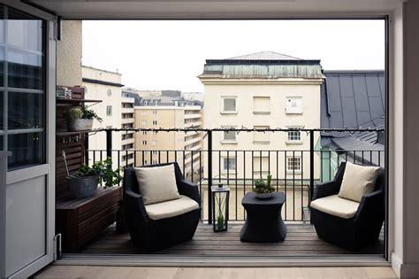 ringhiera per terrazzo arredare il terrazzo con mobili moderni per un outdoor da