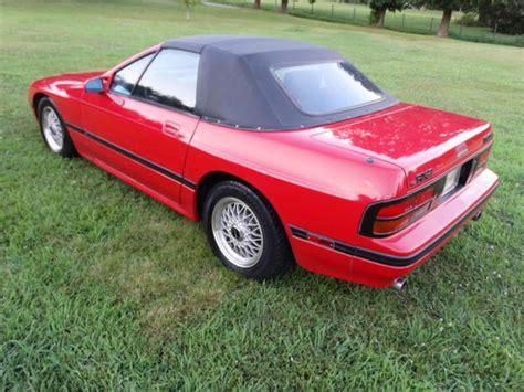 repair anti lock braking 1988 mazda rx 7 electronic throttle control 1988 mazda rx 7 convertible convertible 2 door 1 3l low miles