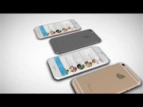 Iphone 6 Mockup Video Kit After Effects Template Youtube Iphone 6 After Effects Template Free