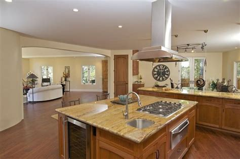 kitchen islands with stove elegant touches of montclair contemporary will awe and