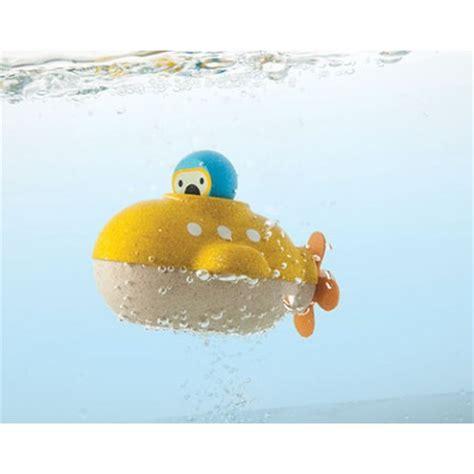 bathtub submarine toy plan toys submarine wooden bath toy