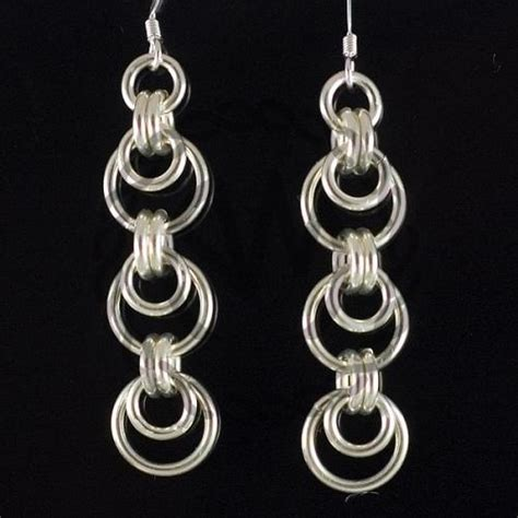 jump rings jewelry chainmaille earrings jewelry
