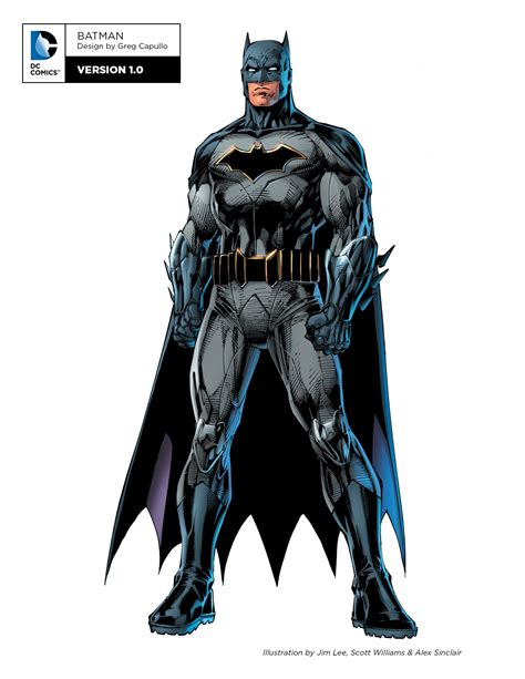 Batman News by Dc Comics Quot Rebirth Quot Redesigns Of Batman Superman And