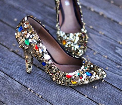 diy sequin shoes 20 creative diy shoes decorating ideas hative