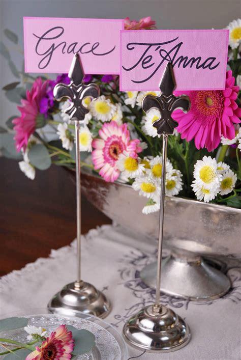 fleur de lis table l 6 fleur de lis table number holders 13 quot tall