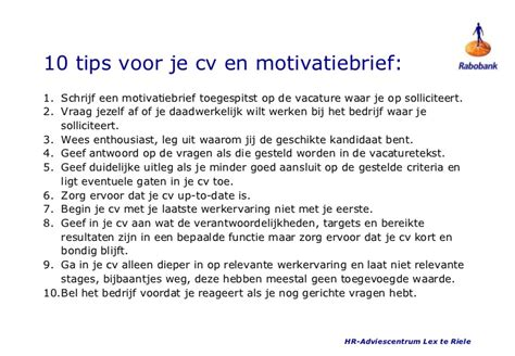 10 tips om je fitter hoe start je een motivatiebrief cv maken 2018
