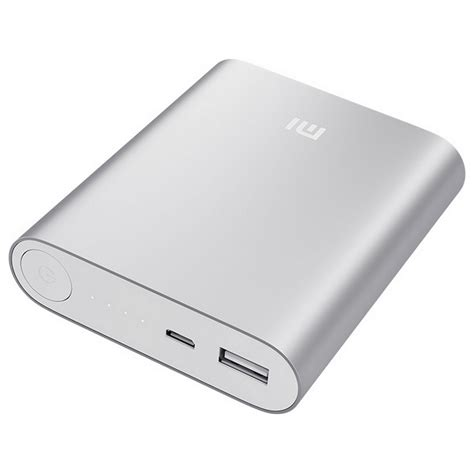 Powerbank Xiaomi 10400 Original xiaomi powerbank silver 10400 mah