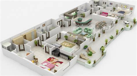 House Design Layout 3d by Condo Interior Design Rendering Project 3d Animation