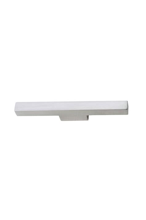 Kitchen Craft Hardware T Bar Cabinet Pull In Brushed Nickel Kitchen Craft Cabinetry
