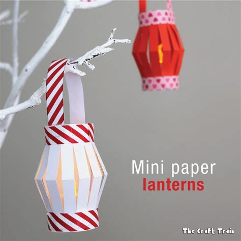 Paper Lantern Craft Template