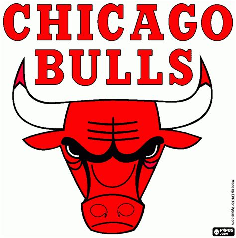 chicago bulls colors free coloring pages of michael name logo